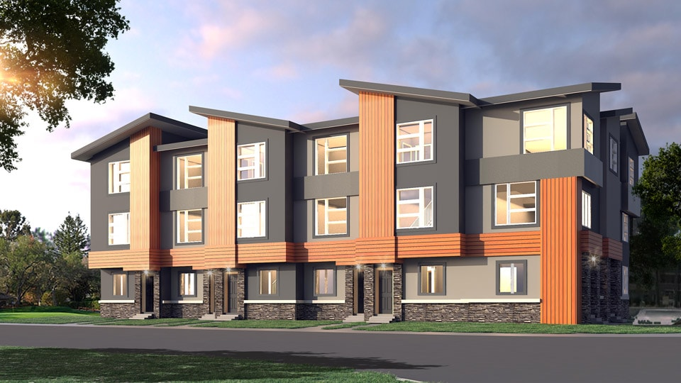 Skyview-Townhome-Rendering